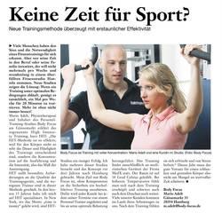 Keine Zeit für Sport